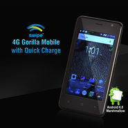 Swipe 4G Gorilla Mobile with Quick Charge