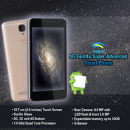 Swipe 4G Gorilla Super Advanced Smart Phone