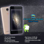 Swipe 4G Gorilla Super Advanced Smart Phone (B1)