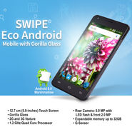 Swipe Eco Android Mobile with Gorilla Glass