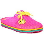 Ten PVC Pink Slippers & Flip-Flops -ts292