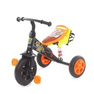 Troopers Super Tricycle With Shock Absorbers - Black and Yellow