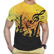 Effit Printed Casual Tshirts_Trp0604 - Yellow