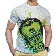 Effit Printed Casual Tshirts_Trw0619 - White
