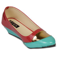 Ten Patent Leather Wedges For Women_tenbl215 - Pink
