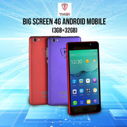 Tiitan Big Screen 4G Android Mobile (3GB+32GB)