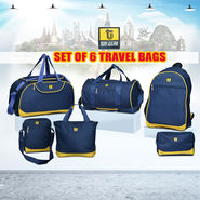 Top Gear Set of 6 Travel Bags