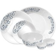Treo Bormioli Autumn Leaf Liberty Pack of 21 Glass Dinner set   LE-TREO-006-21