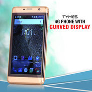 Tymes 4G Phone with Curved Display