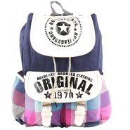 Tamirha Cotton Multicolor Backpack -UB16921