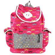 Tamirha Cotton Red Backpack -UB16930