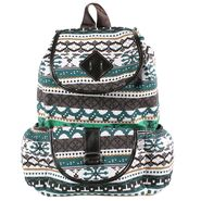 Tamirha Cotton Multicolor Backpack -UB16934
