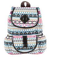 Tamirha Cotton Multicolor Backpack -UB16935