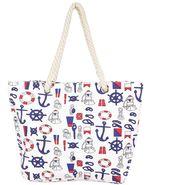 Tamirha Cotton White Handbag -UB16951