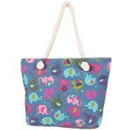 Tamirha Cotton Blue Handbag -UB16954