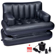Air Sofa cum Bed - Black