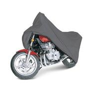 Universal Size Bike Body Cover With Side Mirror - Dark Grey