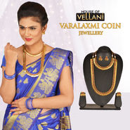 Varalaxmi Coin Jewellery