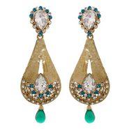 Vendee Fashion Creative Drop Earrings - Blue - 8417