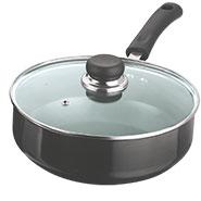Vinod Black Pearl All Purpose Pan - Black