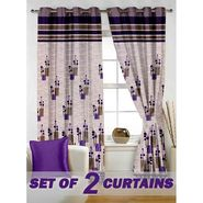 Set of 2 Printed Window curtain-5 feet-WBR_2_4014