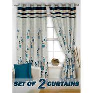 Set of 2 Printed Window curtain-5 feet-WBR_2_4020
