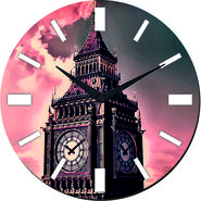 meSleep London Clock Digital Printed Wall Clock-WC-R-01-51