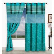 Storyathome Set of 2  Window curtain-5 feet-WCL_2-1001