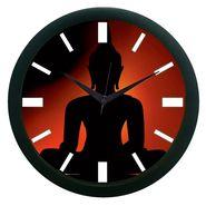 meSleep Buddha Wall Clock (With Glass)-WCNW-01-37