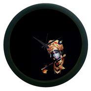 meSleep Black Krishna Wall Clock (With Glass)-WCNW-02-25
