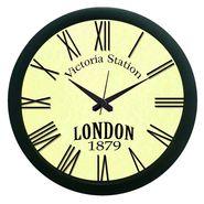 meSleep London Vinatge Look Wall Clock (With Glass)-WCNW-05-029