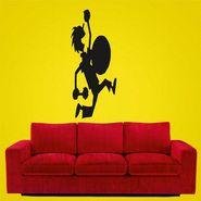 Black Boy Decorative Wall Sticker-WS-08-044