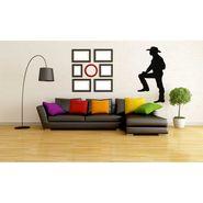 Black Men Decorative Wall Sticker-WS-08-066