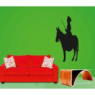 Horse Rider Decorative Wall Sticker-WS-08-069