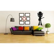 Baby Musician Black Wall Sticker-WS-08-112