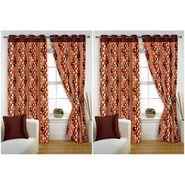 Storyathome Set of 4  Window curtain-5 feet-WTZ_2-1007