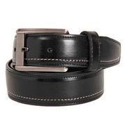 Walletsnbags Texas Leatherite Belt - Black