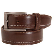 Walletsnbags Texas Leatherite Belt - Brown