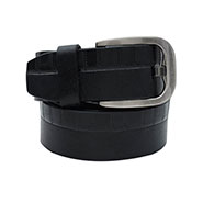 Walletsnbags Drymill Harness Leather Belt - Black