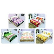 Welhome Pack of 5 - 3D Bedsheet Set Floral Print