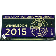 Wimbledon Mens Championships Towel 2015 - Green & Purple