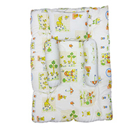 Wonderkids Printed Bedding Set - White & Green