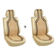 Combo of 2 Car Seat Acupressure Wooden Beads