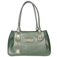 Xccess Genuine Leather Green Handbag -Xlhb06