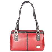 Xccess Genuine Leather Red Handbag -Xlhb09