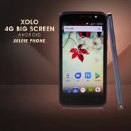 Xolo 4G Big Screen Android Selfie Phone