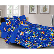 Valtellina Cartoon Design  Double bedsheet With 2 Pillow cover