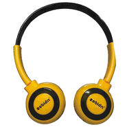 Zebion U 'N' Hue -100 Yellow Headphone (Yellow & Black)