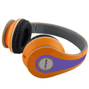 Zebion U 'N' Hue -250 Orange Headphone (Orange & Blue)