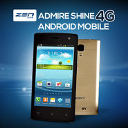 ZEN Admire Shine 4G Android Mobile